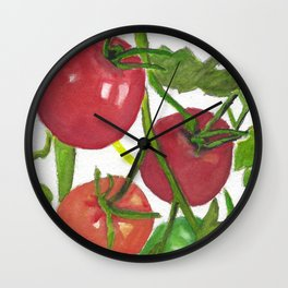 Taste of Summer Wall Clock