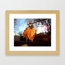 I ♥ Autumn Framed Art Print