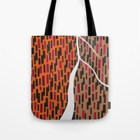 waterfall Tote Bags featuring Waterfall by Sandyshow