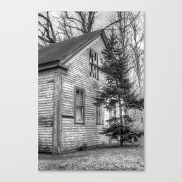 Empty on Depot Street Canvas Print