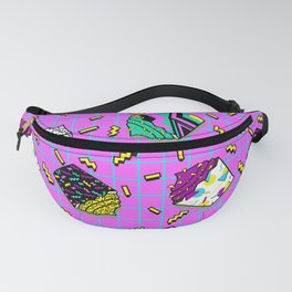 I love the eaties pink (80s cupcakes) Fanny Pack