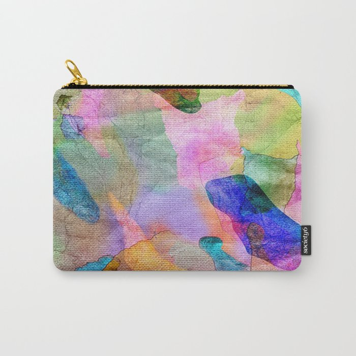 Abstract Texture 03 Carry-All Pouch