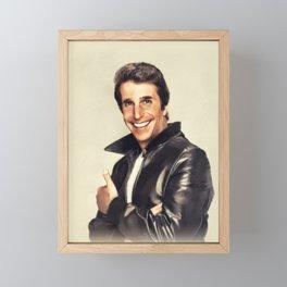 Henry Winkler, Actor Framed Mini Art Print