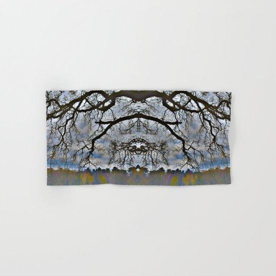 Treeflection VII Hand & Bath Towel