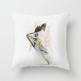 Drift Contemporary Dance Throw Pillow