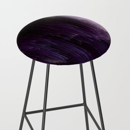 Darkness Glitches Out - Abstract Pixel Art Bar Stool