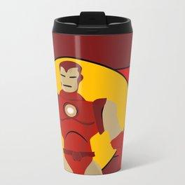 Iron vintage Man Metal Travel Mug
