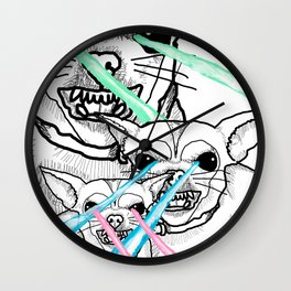 DESTROY Wall Clock