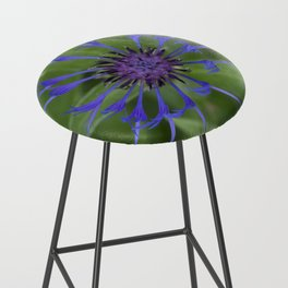 Thin blue flames in a sea of green Bar Stool