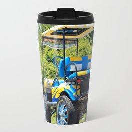 Two Tone Golf Cart Travel Mug
