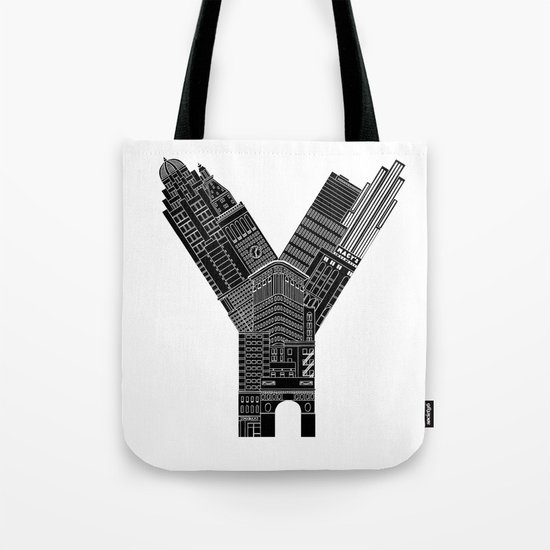 Y - from NYC Tote Bag