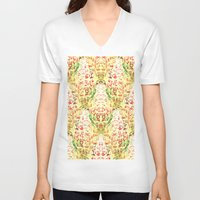 flight V-neck T-shirts featuring Flight by Keith Cameron