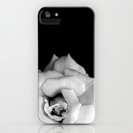 Rose Monochrome iPhone Case