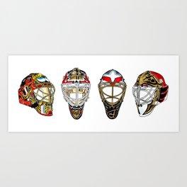 Ottawa - Masks Art Print
