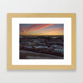 Staring at the Sky Framed Art Print