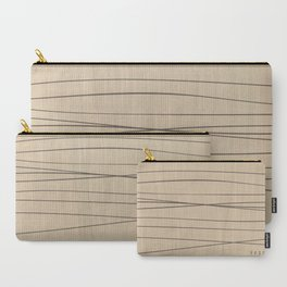 Smooth Stripes Carry-All Pouch