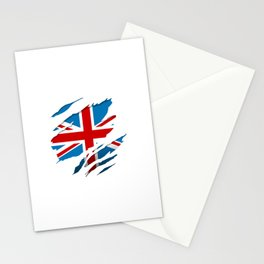 British Flag Pride Stationery Cards
