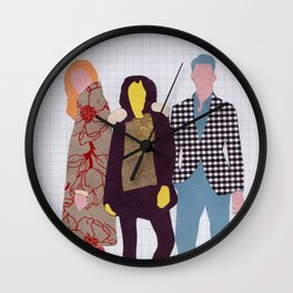 Individuals Void of Meaning Wall Clock