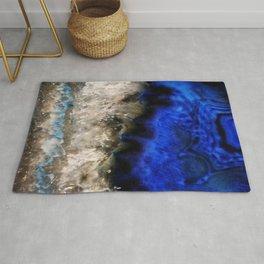 Blue Geode Rug