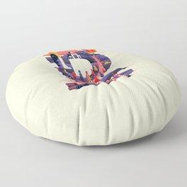 Wanderlust Alphabet – B is for Barcelona Floor Pillow
