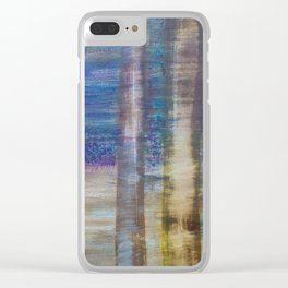 Bluebell discovery Clear iPhone Case