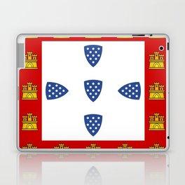 Old Portuguese flag Laptop & iPad Skin