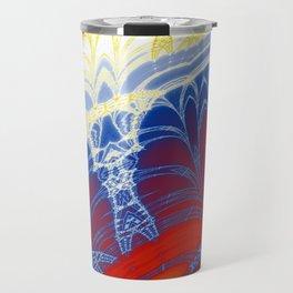 Fractal Arches Travel Mug