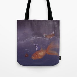 Over Under Water Tote Bag