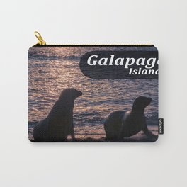 Galapagos Island Poster Carry-All Pouch