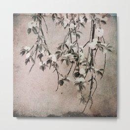 cherry tree branches Metal Print
