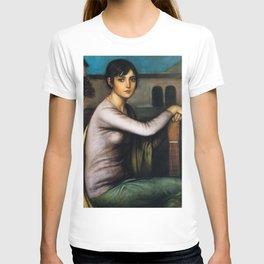 Julio Romero de Torres - Tristeza Andaluza - Melancholy T-shirt