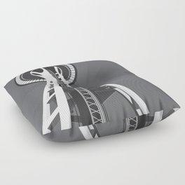 Space Needle Floor Pillow