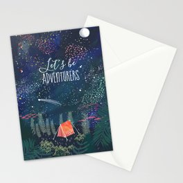 Let´s be adventurers Stationery Cards