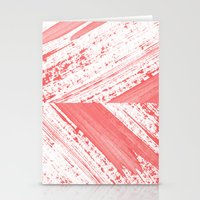 coral Stationery Cards featuring CORAL by LEEMO