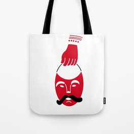 Mask Tribal Mexican, day of the dead New Year Tote Bag