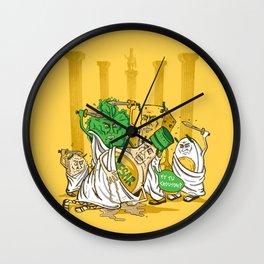 Et Tu, Crouton? Wall Clock