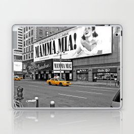 NYC Yellow Cabs Mamma Mia - USA Laptop & iPad Skin