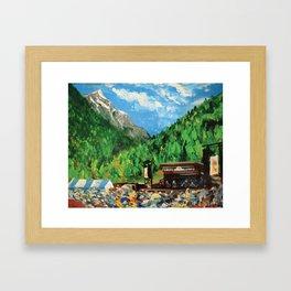 Telluride Bluegrass Festival  Framed Art Print