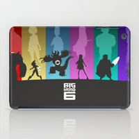 big hero 6 iPad Cases featuring The Big Hero 6 by Travis Love