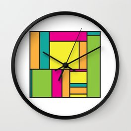 Rectangled Wall Clock