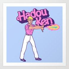Hadou Ken Art Print