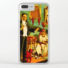 Thurston The Great Magician - Egypt Clear iPhone Case