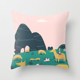 Accepted as one of their own. Throw Pillow