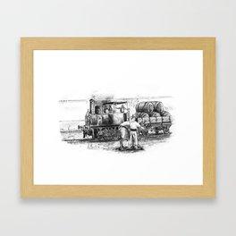 La maquinilla (Jerez de la Frontera) Framed Art Print