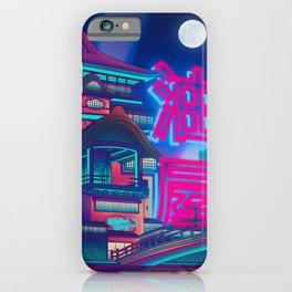 Neon Bath House iPhone Case