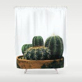 02_Cactus Shower Curtain