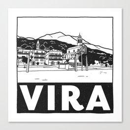 Vira, Lago Maggiore, Italy Canvas Print