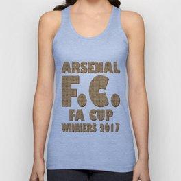 Scrabble Arsenal FA Cup Unisex Tank Top