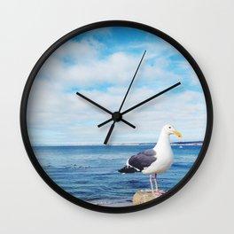 San Carlos Gull Wall Clock