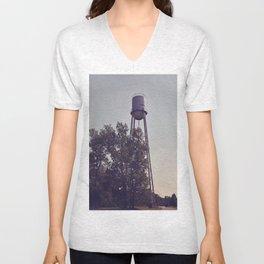 Gideon Water Tower Unisex V-Neck